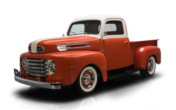 48 ford truck chassis